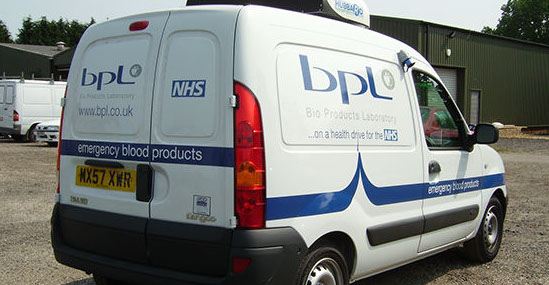 Renault Kangoo Van for BPL & NHS
