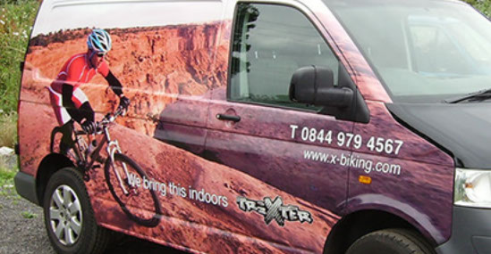 Fully printed vehicle wrap